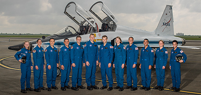 NASA's Newest Astronaut Recruits to Conduct Research off the Earth, For the Earth and Deep Space Missions