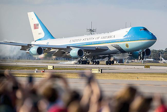 Flight risk: President Trump's visits to Mar-a-Lago shifts air traffic
