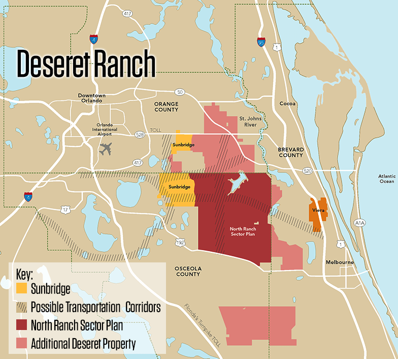 Deseret Ranch map