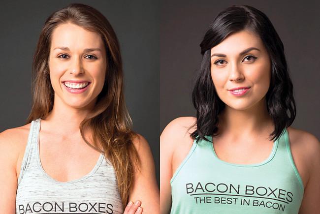 bacon boxes