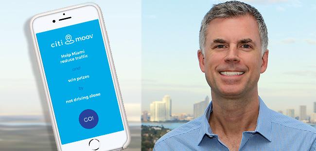 Traffic attack - CitiMoov app encourages carpooling