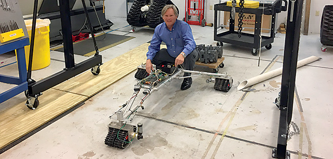 Shore Thing: A UNF professor's 'Surf Rover' will study the ocean floor close to the beach