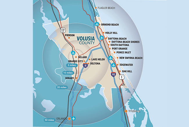 Volusia maps