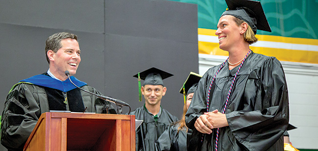 Quick riser: Saint Leo University's provost makes a quick leap to president