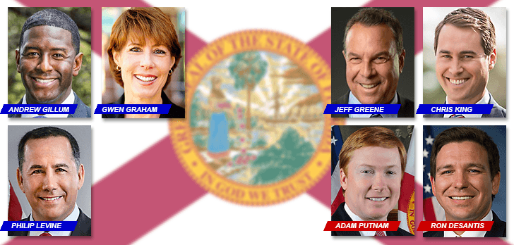 The real estate investments of Florida's candidates for governor