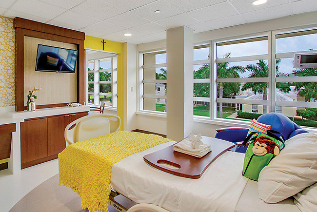 kids hospital rooms