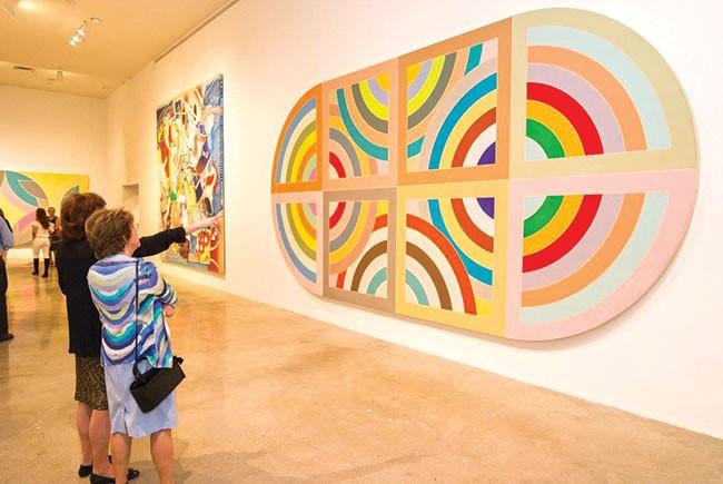 Frank Stella exhibit at NSU Art Museum