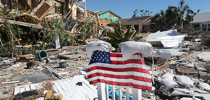 Hurricane Michael is a new test of Florida's odd property insurance market