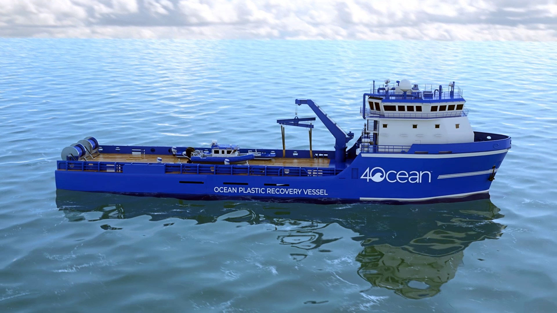 4ocean Unveils One-Of-A-Kind 135-Foot Ocean Plastic Recovery Vessel