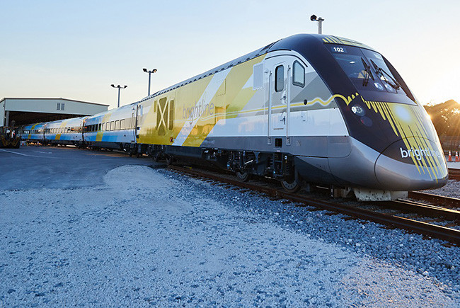 Virgin Group purchases Brightline, renames it Virgin Trains USA