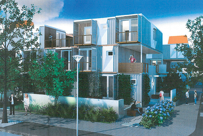 shipping containers for housing