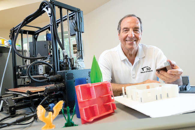 Don Musilli, president, 3D Build Systems