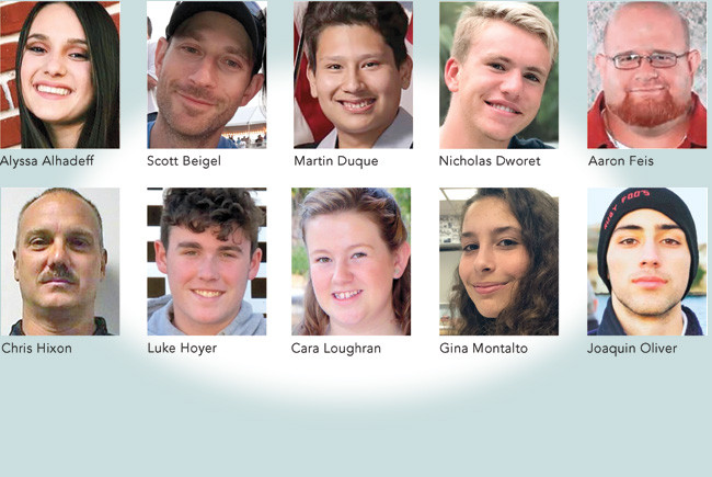 In Memoriam: Victims of the shooting at Marjory Stoneman Douglas High School