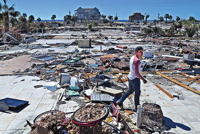 Newsmaker of the Year: Hurricane Michael