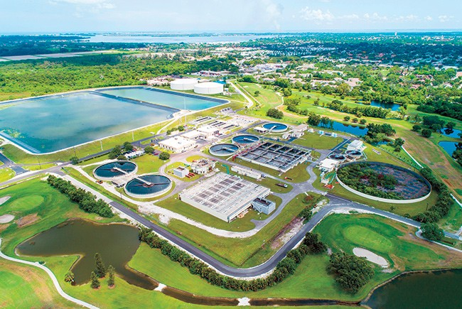 Bradenton Sewage Treatment Plant