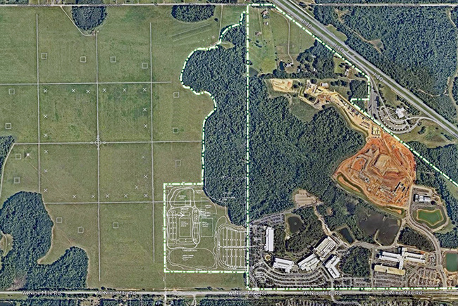 """Former Navy land is Escambia's """"field of dreams"""""""
