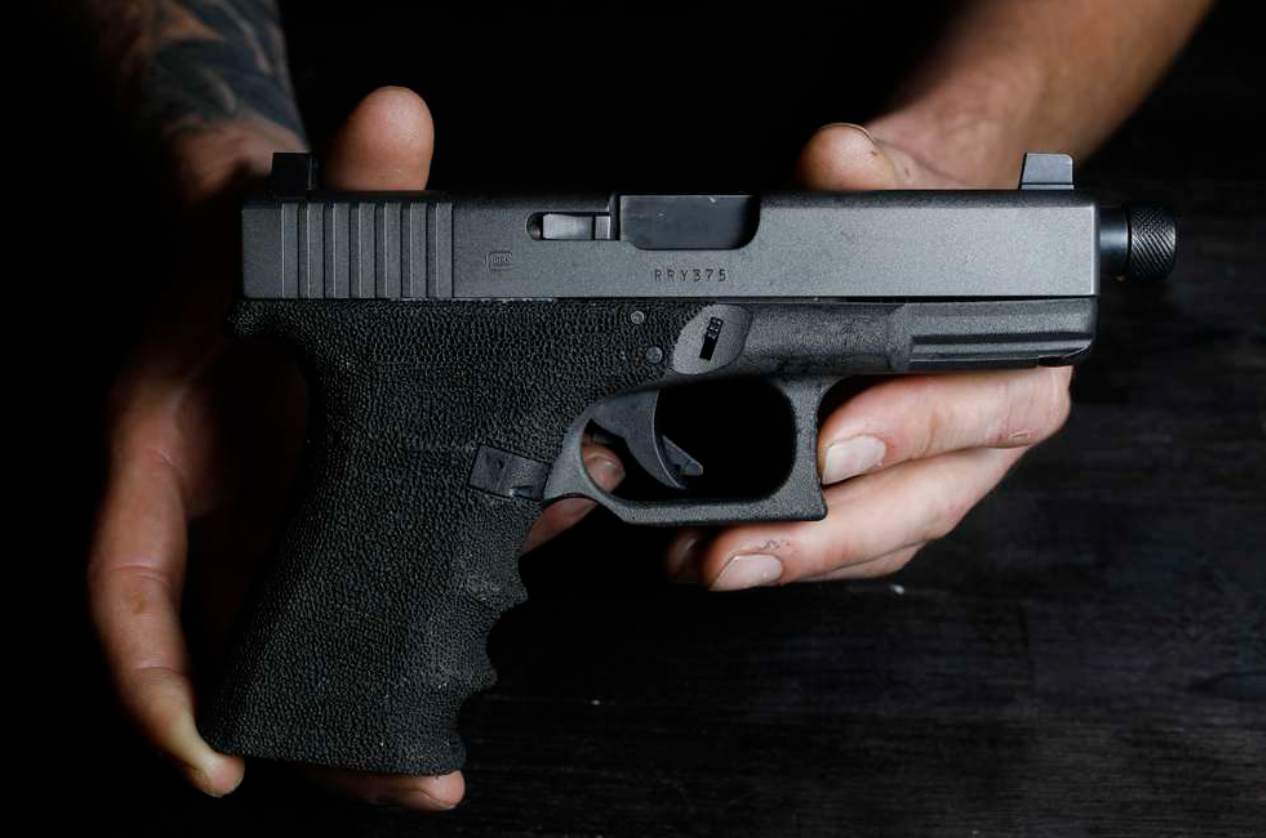 Nationally, number of people hurt in firearms accidents is