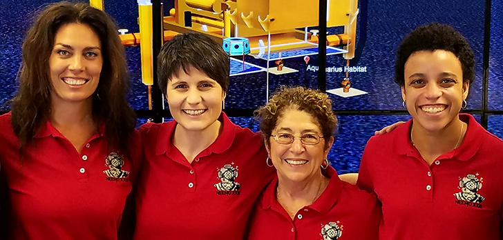 NASA Selects USF Researcher for the First Female-Dominated Crew for Underwater Mission to Simulate Space Exploration