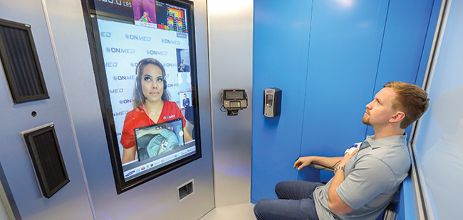 Clearwater company launches interactive telemedicine station