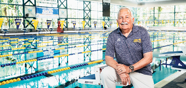 Hall of Fame Florida swimming coach Randy Reese