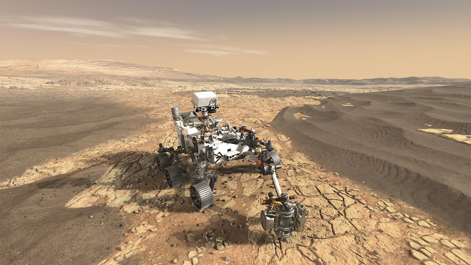 """Calling All Students to the Mars 2020 """"Name the Rover"""" Contest"""
