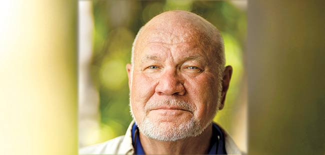 Writer Randy Wayne White is a Florida Icon