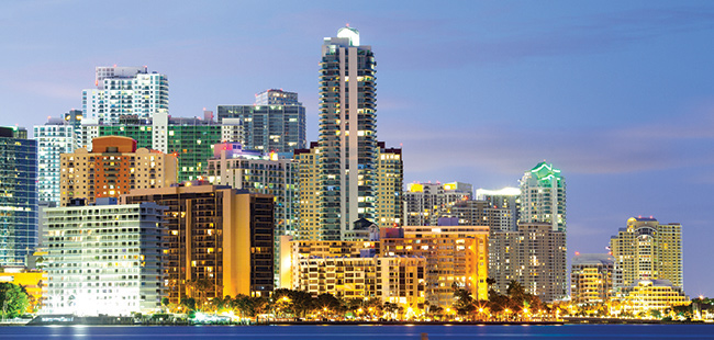 South Florida's Global Presence is Significant in Banking, Finance, and Professional Services