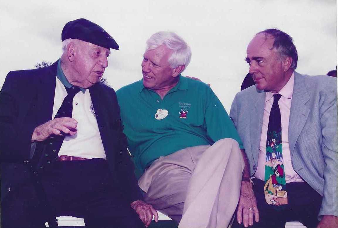 Robert Trent Jones and Robert Trent Jones II with Tom Lewis - Designers of Celebration