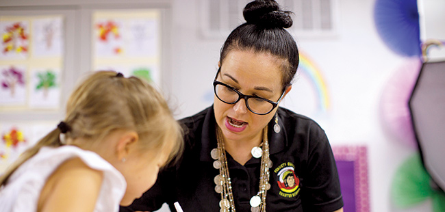 A Florida Native American teacher is helping to preserve the Creek language