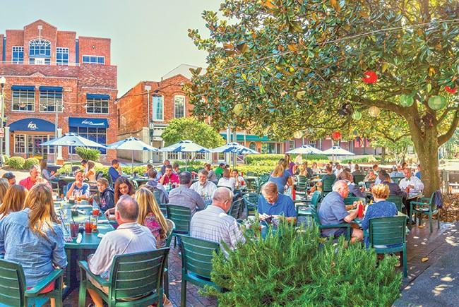 Tallahassee outdoor dining