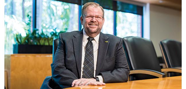 UCF's new president Alexander Cartwright