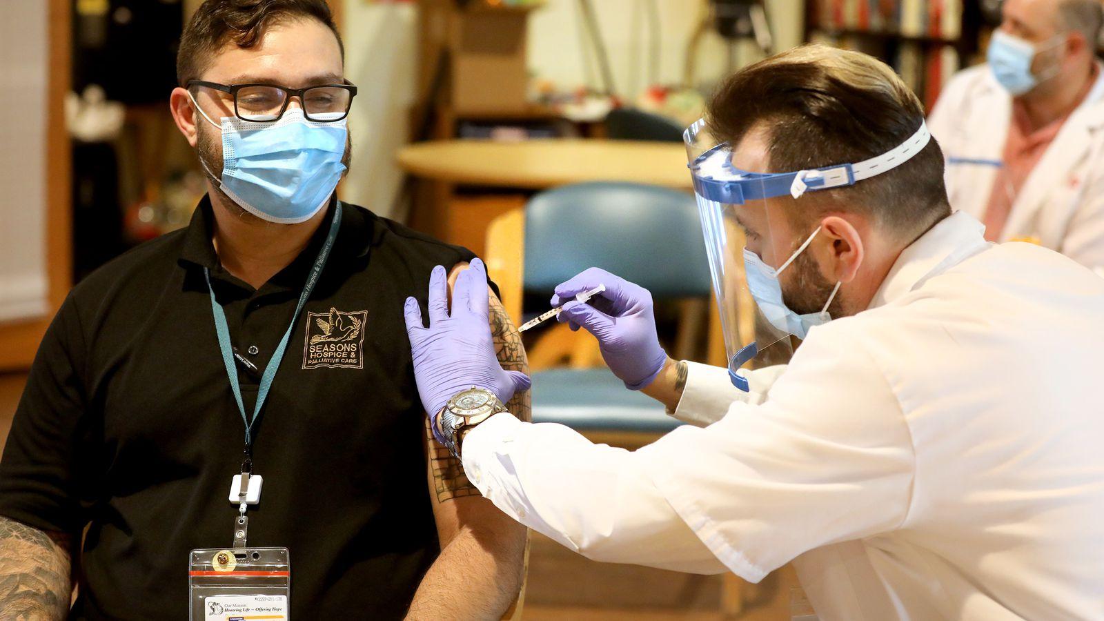 Majority of Florida's long-term care staffers refused coronavirus vaccine