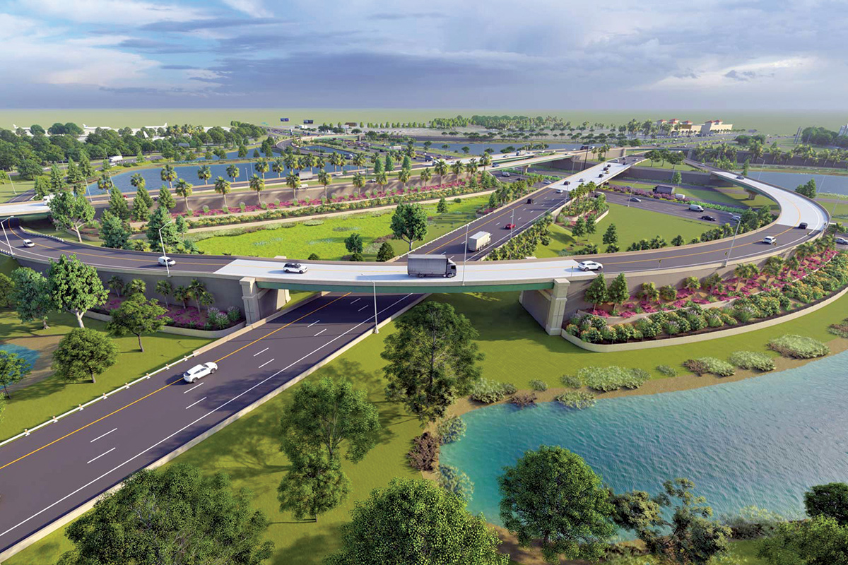 Laura Kelley of the Central Florida Expressway Authority talks expressway projects