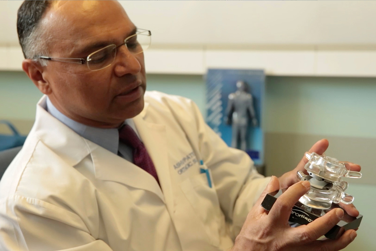 Local Surgeon, SMH Testing Motion-Preserving Alternatives to Spinal Fusion