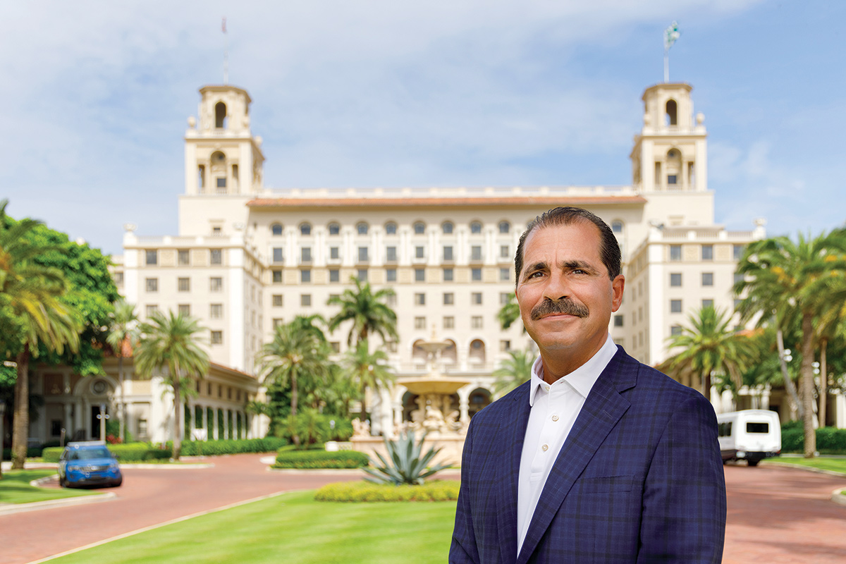 Paul Leone, CEO of the Breakers