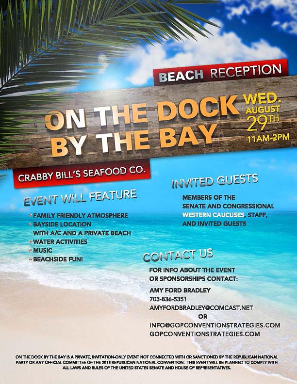 Crabby Bills Fundraiser RNC