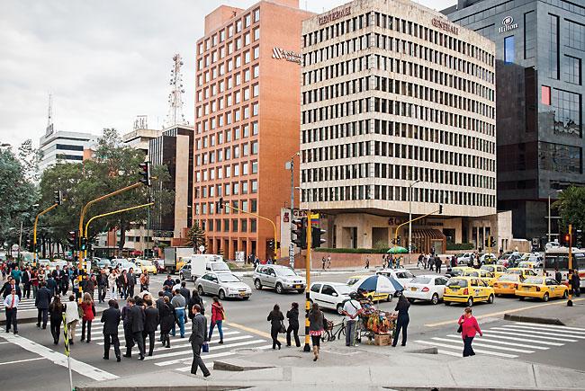 Downtown Bogotá