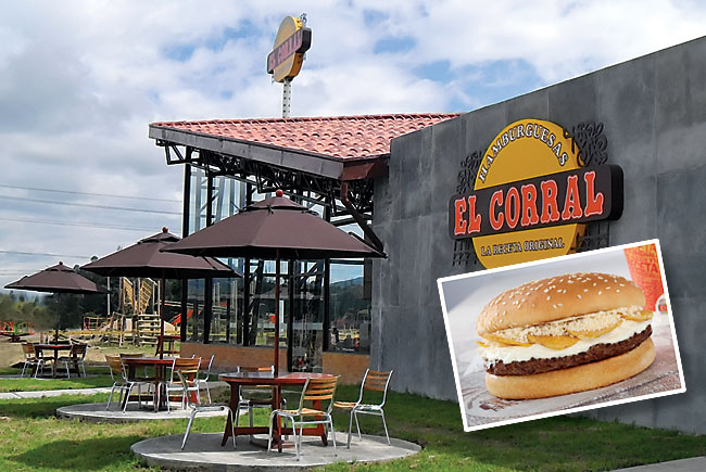 Colombia-based El Corral burger chain