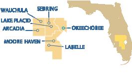 South Central Florida