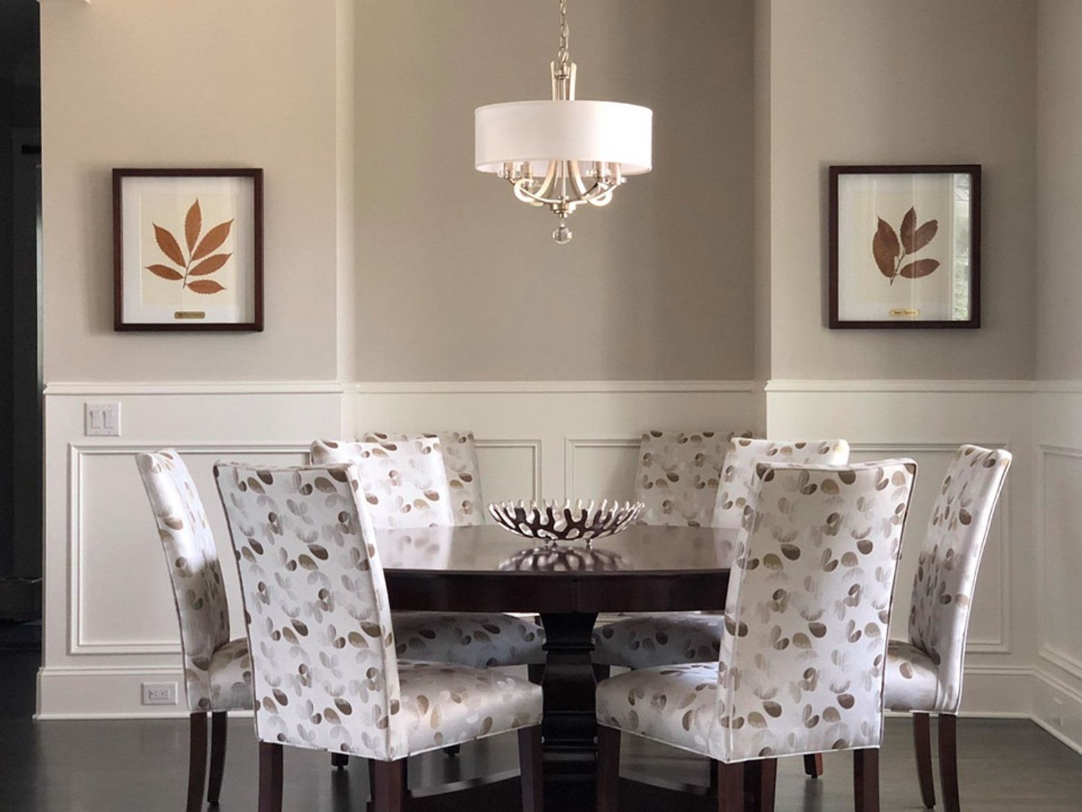 Transitional Dining Room image