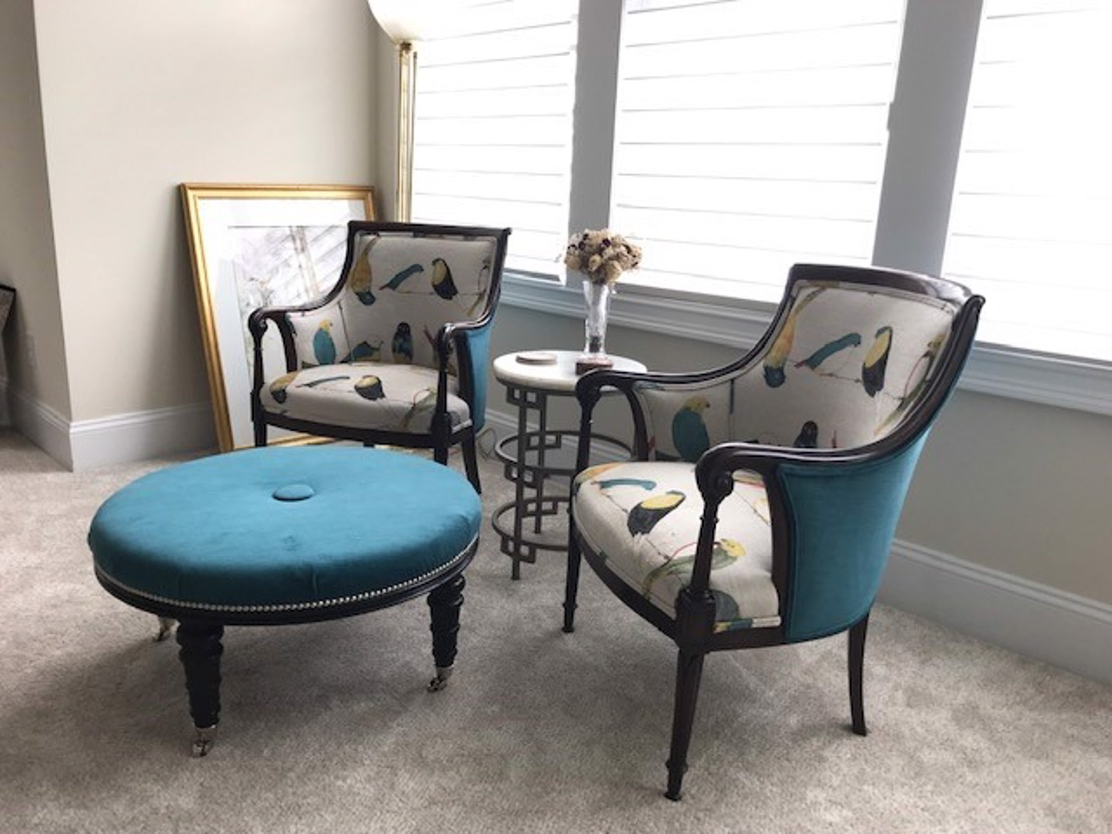 upholstered chairs and ottoman.jpg image