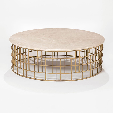 Adriana Hoyos - Bolero Cocktail Table - BR19-101R