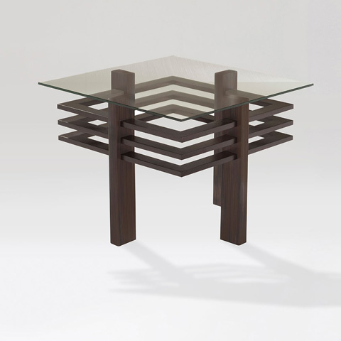 Adriana Hoyos - Chocolate End Table - CH20-100