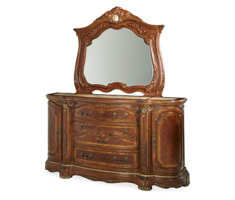 Image of Drawer Dresser with Hidden Storage Compartments