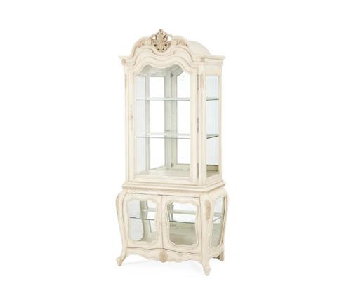 Michael Amini - Glass Encased Curio Display Cabinet - 54000-CURIO