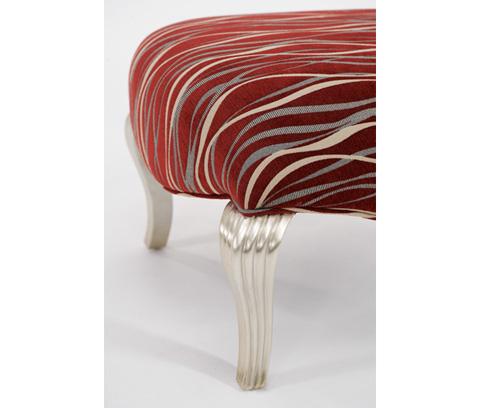 Michael Amini - Armless Chair - 06831-BLKRD-05