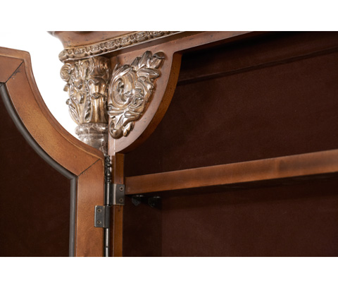 Michael Amini - Accent Wall Mirror with Storage - 72062-55