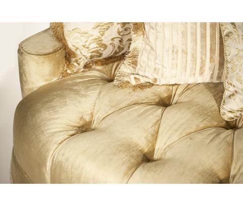 Michael Amini - Tufted Seat Sofa - 79815-PEARL-00