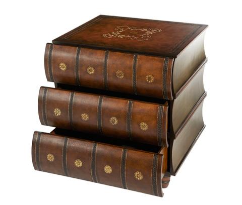 Michael Amini - Book Side Table - ACF-ACT-DJNB-025