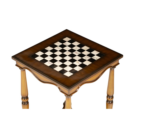 Michael Amini - Game Table with Casters - ACF-ACT-MLBR-002